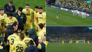 La tanda interminable del Villarreal contra el Manchester United.