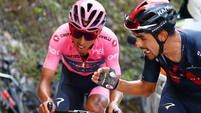 Dani Martínez explicó la estrategia del Ineos para el final del Giro...