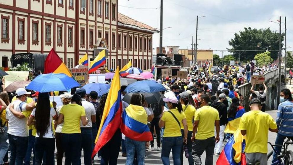 Protestas y bloqueos hoy 31 de mayo.