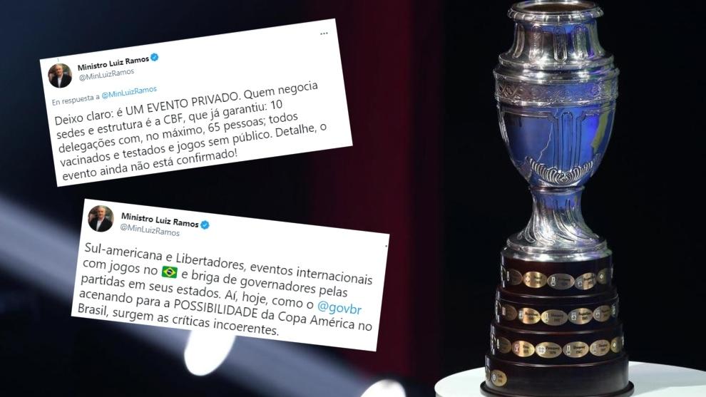 Gobierno de Bolsonaro dice que aún negocia la Copa América y ...