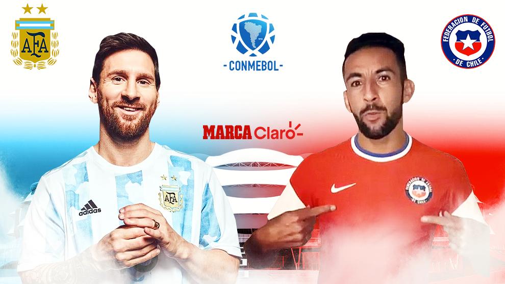 Eliminatorias Hoy Argentina Vs Chile Resumen Y Goles Del Partido Por La Jornada 7 De La Eliminatoria Sudamericana Marca Claro Colombia