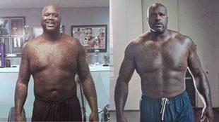 El brutal cambio de O'Neal se refleja en estas dos fotos