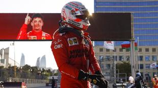 Charles Leclerc, pole en el GP Azerbaiyán.