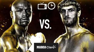Mayweather vs Logan Paul: Horario y TV para ver en vivo y en directo...