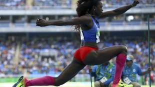 Caterine Ibargüen, una de las clasificadas a los Juegos Olímpicos de...