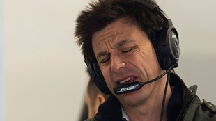 El director del equipo Mercedes, Toto Wolff