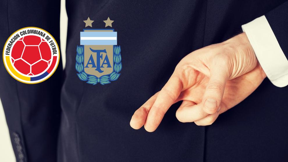 Colombia y Argentina se enfrentan en la Eliminatoria.