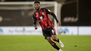 Jefferson Lerma (26) durante un partido con el Bournemouth en la...