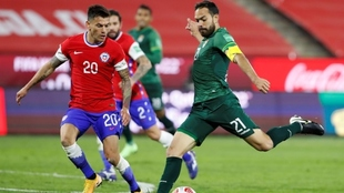 Chile y Bolivia empatan en la octava fecha de las Eliminatorias.