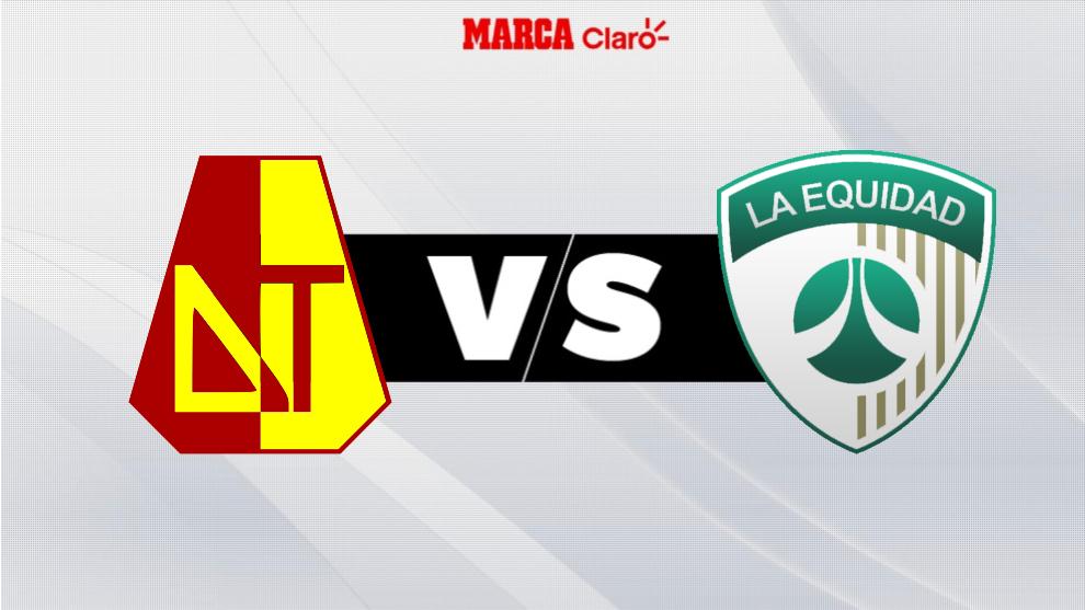 Tolima vs Equidad, en directo el fútbol colombiano.