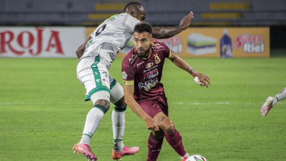 Tolima y Equidad empatan 1-1 en la idea de la semifinal de la Liga...