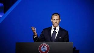 Presidente de la UEFA, Aleksander Ceferin