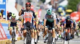 Caleb Ewan gana la etapa 3 en el Baloise Belgium Tour