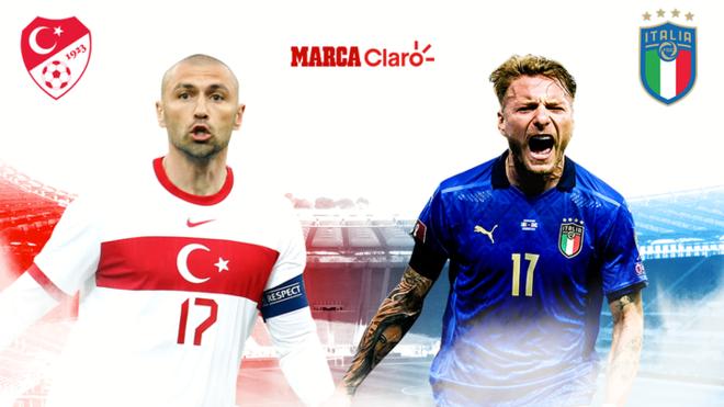 Turquía vs Italia, en vivo por la Eurocopa 2020; resultado del partido ...