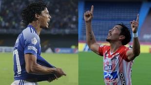 Juan Carlos Pereira y Fabián Sambueza, calientan el partido de vuelta...