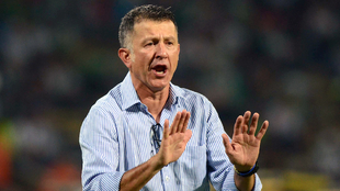 Juan Carlos Osori ollega a Cali y se espera la firma de su contrato...