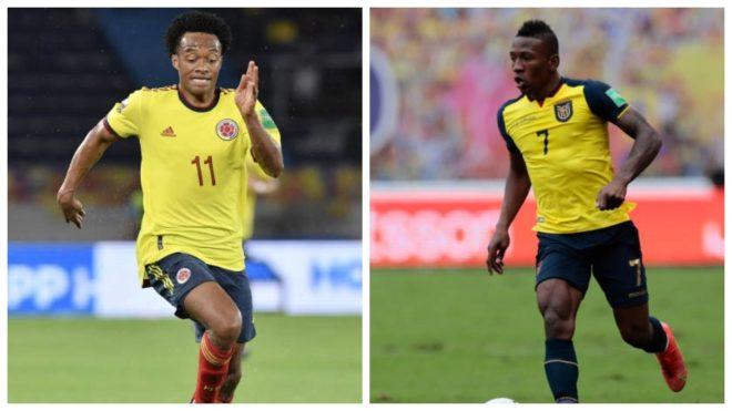 Colombia vs Ecuador: Estos son los posibles onces