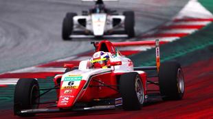 Sebastián Montoya salió de Spielberg tercero Fórmula 4 Alemana...