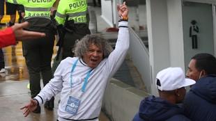 Alberto Gamero, orgulloso por la entrega de sus jugadores para llegar...