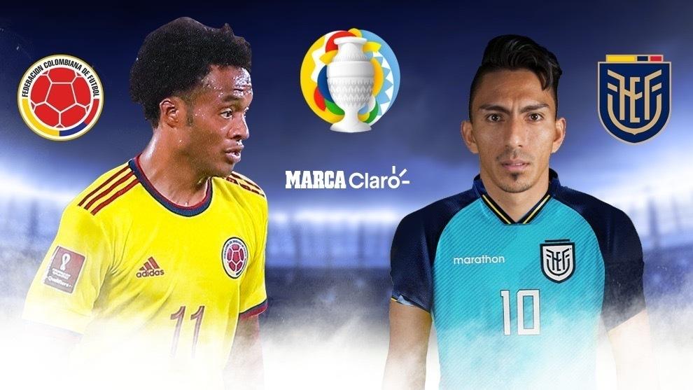 Colombia vs Ecuador, en vivo online: El partido de la fecha 1 del ...