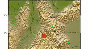 Dos temblores de 4.9 y 4.4 de magnitud, en Santander este lunes 14 de...