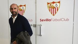 Monchi, director deportivo del Sevilla.