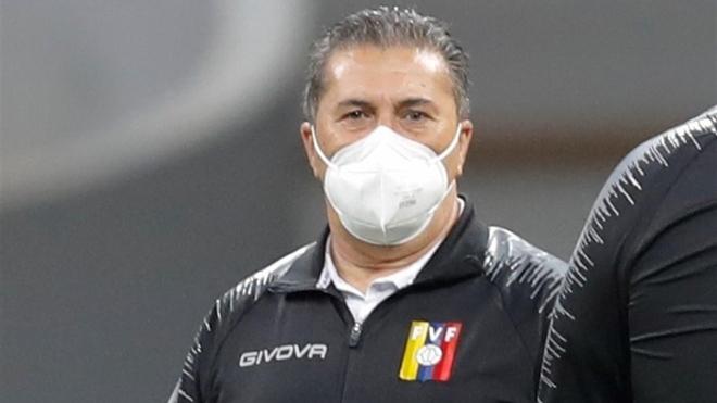 José Pedeiro, DT de la selección de Vnezuela.