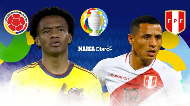 Colombia vs Perú en vivo por la Copa América, partido por la ...