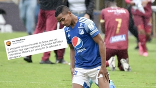Iván Mejía no tiene compasión con Millonarios.