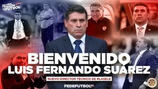 Póster de presentación de Suárez en Costa Rica.