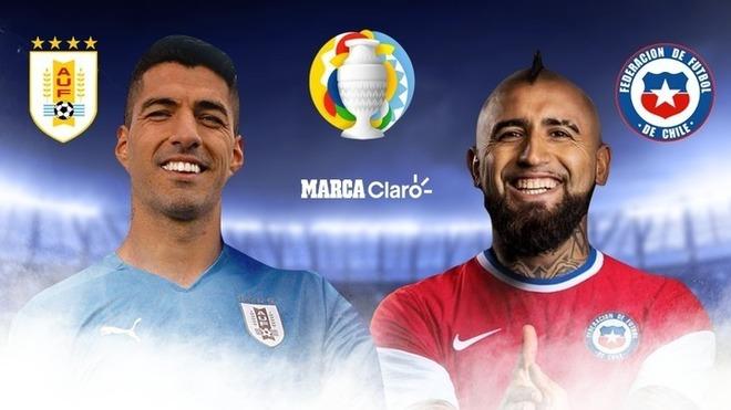 Uruguay vs Chile en vivo y en directo online