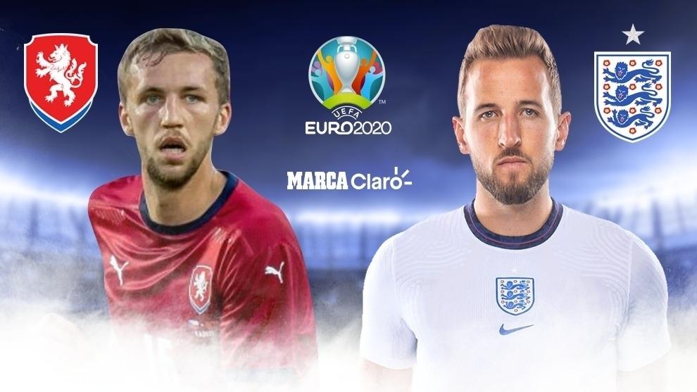 República Checa vs Inglaterra, en vivo online el partido de la fase ...