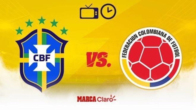 Brasil vs Colombia: horario y dónde ver en vivo por tv el partido de ...