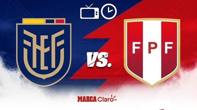 Ecuador vs Perú, hoy: horario y dónde ver en vivo por tv el partido ...
