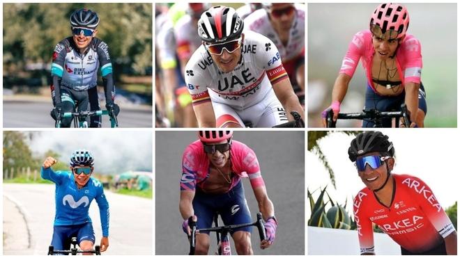 Tour de Francia 2021: ¿Quiénes son los colombianos que van a l ...