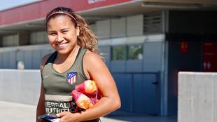 Leicy Santos, jugadora del Atlético de Madrid.