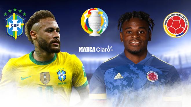 Brasil vs Colombia, en vivo por la Copa América 2021: partido por la ...