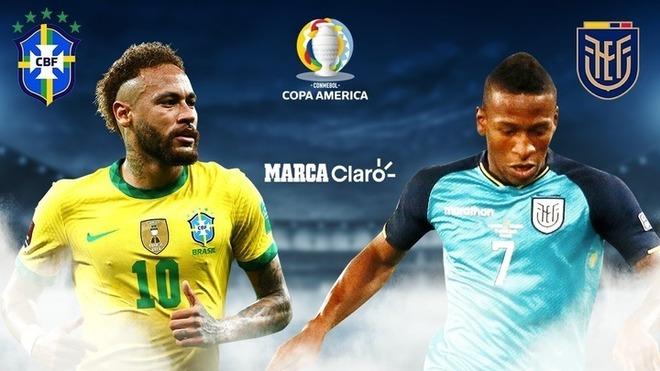 Brasil vs Ecuador en vivo y en directo online.