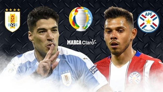 Uruguay vs Paraguay Highlights 29 June 2021