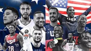 EEUU definió su equipo para los Juegos Olímpicos de Tokyo 2021.