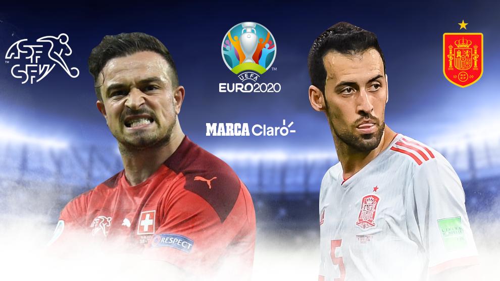 Suiza vs España, en vivo: Cuartos de final de la Eurocopa