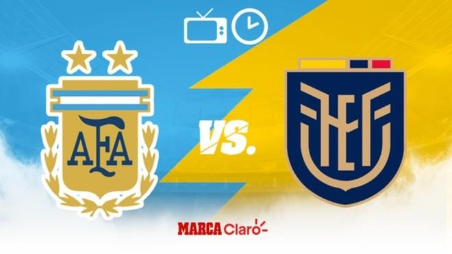 Argentina vs Ecuador: Horario y dónde ver en vivo por TV el partido ...