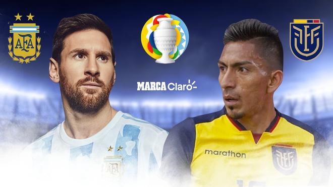 Argentina vs Ecuador, en vivo el partido por la Copa América 2021 ...