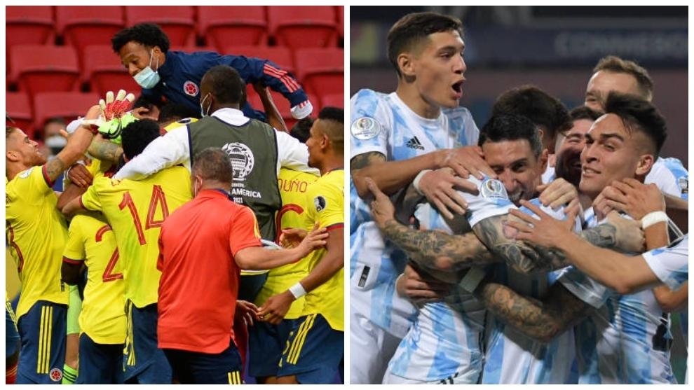 Copa América 2021: Argentina vs Colombia: choque de trenes en semifinales |  MARCA Claro Colombia
