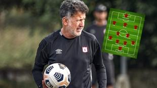 Osorio tendrá su primer partido ante Atlético Paranaense.