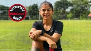Catalina Usme, jugadora del América de Cali.
