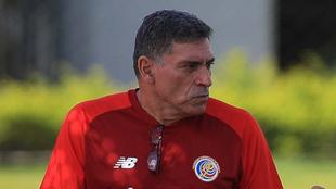 Luis Fernando Suárez, entrenador de la Selección de Costa Rica.