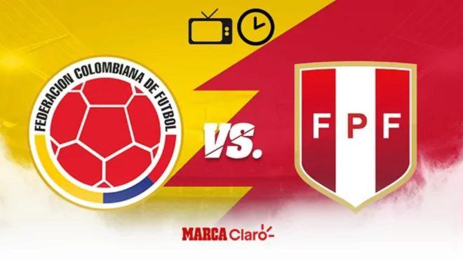 Colombia vs Perú: Horario y dónde ver por tv el partido por el tercer ...