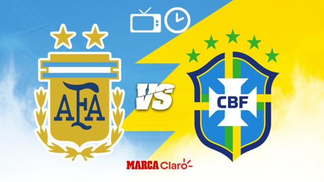 Argentina vs Brasil en vivo: Horario y dónde ver por TV la final de la ...