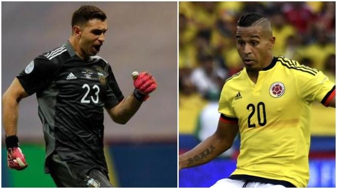 Macnelly Torres ve normal el comportamiento de Emiliano Martínez en...